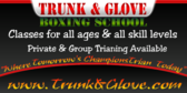 Trunk And Glove Boxing School