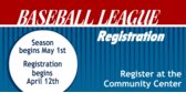 Baseball League Registration