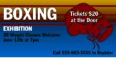 Boxing Exhibition