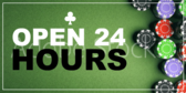 Open 24 Hours Green