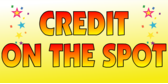 Credit on the Spot Yellow