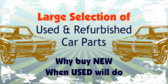 Used and Refurbished Car Parts