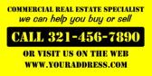 Commercial Real Estate Specialist Help