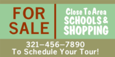 Close to Area Schools and Shopping
