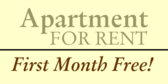 Apartment For Rent Month Free