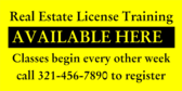 Real Estate License Training