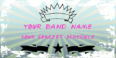 Your Band Name Your Concert Schedule here