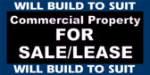Commercial Property For Sale Lease