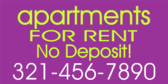 Apartments Rent No Deposit