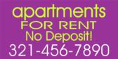 Apartments Rent No Deposit