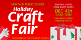 School Holiday Craft Fair
