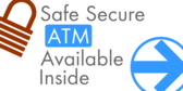 Safe Secure Atm Available Inside
