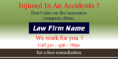 injured in an accident?