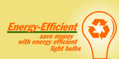 Energy Efficient Lightbulbs
