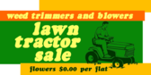 Lawn Tractor Sale