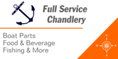 Full Service Chandlery Boat Parts