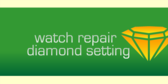 Diamond Setting and Watch Repair