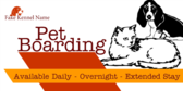 Pet Boarding Kennel Options