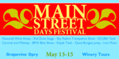 Main Street Days Festival