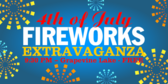Fourth of July Fireworks Extravaganza