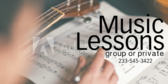 Music Lessons Group of Private