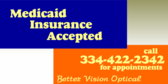 Vision Care, Medicaid and Medicare