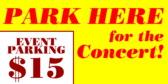 Concert Parking