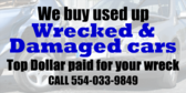 We Buy Your Wrecked Car