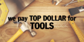 Top Dollar for Tools