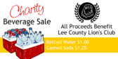 Charity Beverage Sale