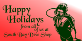 Happy Holidays from Scuba People