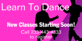 Learn To Dance With Us