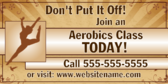 Join The Aerobics Class