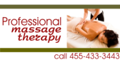 Professional Massage Therapy