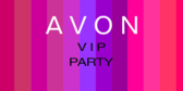 Avon Vip Party