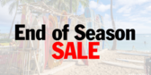 Surf Shop End of Season Sale