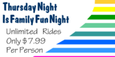 Thursday Night Is Family Fun Night