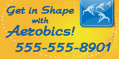 Get In Shape With Aerobics