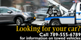 Looking For Your Car, Maybe It's Towed