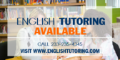 English Tutoring Available ESL