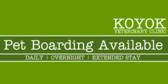 Vet Office Pet Boarding