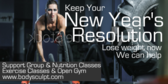 Keep New Year's Weight Loss Resolution