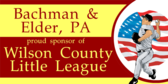Law Firm Little League Sponsors