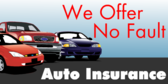 We Offer No Fault Auto Insurance