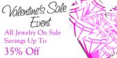 Valentine Sales Event All Jewelry On Sale