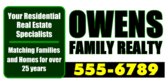 Your Residential Real Estate Specialists