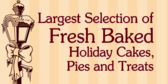 Large Selection Of Baked Goods