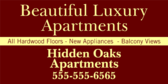 Beautiful Luxury Apartments