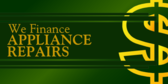 Appliance Repair Financing