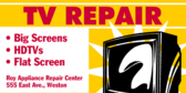 Big Screen Television Repair